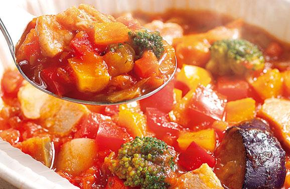 コープデリ 7種の野菜のミネストローネ