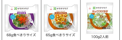デイリーコープ 生野菜サラダ