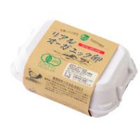 コープデリのリアルオーガニック卵パッケージ